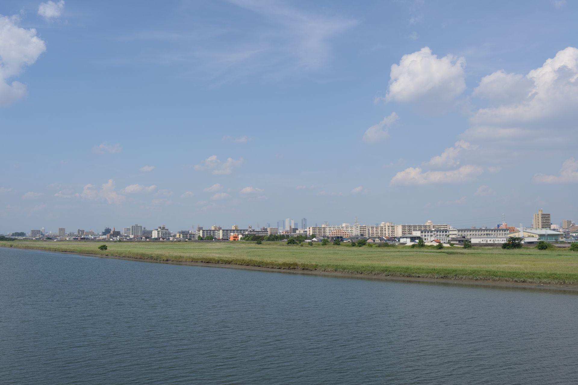 名古屋市西区は庄内川の南と北で相場に差があります。